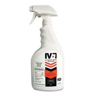 Pure Bioscience Products   Disinfectant Hard Surface, EPA Registered, 32 oz.   Sold as 1 EA   EPA registered hard surface disinfectant acts faster than the leading disinfectants, killing some germs in 30 seconds. IV 7 Ultimate Germ Defense offers a powerfu