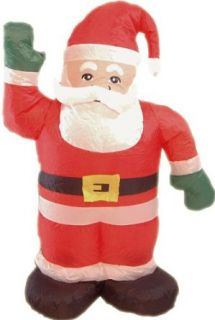 Erwin Christmas Holiday Lawn Decoration 4 Foot Inflatable Santa Claus: Adult Sized Costumes: Clothing