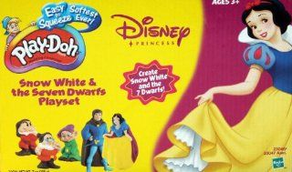 Play Doh Disney Snow White & the Seven Dwarfs Playset Toys & Games