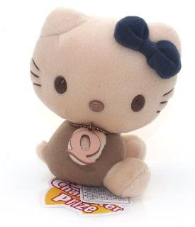 "Hello Kitty Classic Alphabet ~5"" Mini Plush Doll   Letter 'Q' (Japanese Imported): Toys & Games"