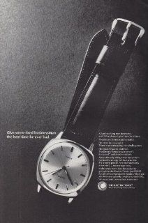 1966 Electric Timex Watch: Tired Businessman, Timex Print Ad