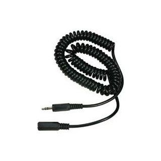 Headphone 3.5mm Extenstion Coil Cable 10 Feet  Works with Bose Quite Comfort & Any 3.5 Mm Headphones: Electronics