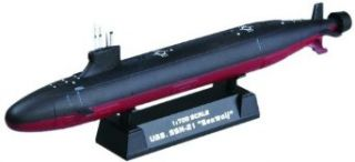 Hobby Boss USS SSN 21 Seawolf Attack Submarine Boat Model Building Kit Toys & Games