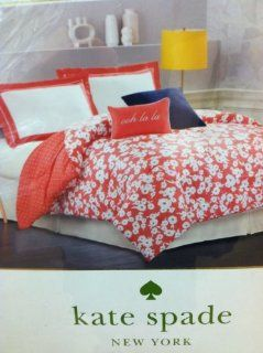 Kate Spade New York Mixed Petal Queen Comforter + 2 Shams   Comforter Sets