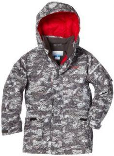 Columbia Boys 2 7 Pop Shove Jacket, Grill Elements Camo, 4/5: Down Alternative Outerwear Coats: Clothing