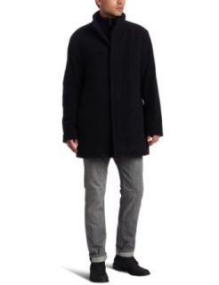 Marc New York by Andrew Marc Men's Riley Car Coat, Black, X Large at  Men�s Clothing store: Wool Outerwear Coats