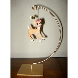 Enesco Rudolph the Red Nosed Reindeer Ornament   Clarice   Decorative Hanging Ornaments