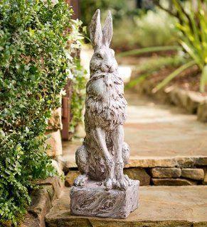 Proud Hare Garden Statue : Outdoor Statues : Patio, Lawn & Garden
