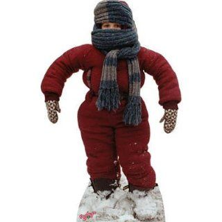 "Randy ""I can't put my arms down""   A Christmas Story Lifesize Cardboard Standup   Prints"