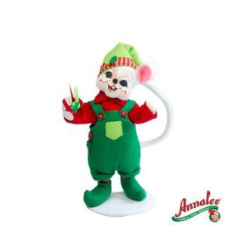 "2012 Annalee Dolls 6"" *Workshop Boy Mouse* Ready to Put Bow on Your Packages: Everything Else"