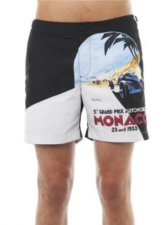 Bulldog Monaco print swim shorts  Orlebar Brown  MATCHESFASH