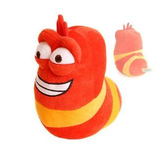 new Larva Red Bug character Plush soft toy warm tuva bugs anime kawaii cute: Toys & Games