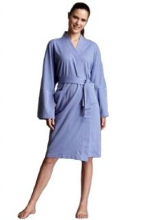 Jonano Women's Organic Cotton Kimono Robe Lavender Blue One Size at  Women�s Clothing store: Bathrobes