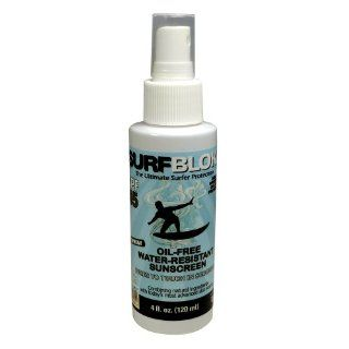 Surf Blok SPF 45 Water Resistant Spray Sunscreen   Sun Protection Sunblock  All Body Sun Block   Sun Screen That Dries Quickly: Everything Else