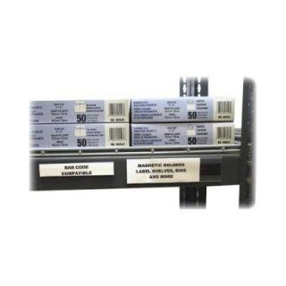 C Line Products, Inc. Products   Label Holder, For Magnetic Shelf/Bin, 6quot;Lx2quot;H, Clear   Sold as 1 BX   Hol Dex Magnetic Shelf/Bin Labels are ideal for quickly labeling metal shelves, bin, drawers, file cabinets and more. Magnetic clear plastic hold