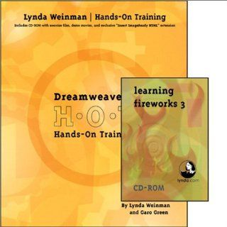 Dreamweaver 3/Fireworks 3 Hands On Training Bundle: Lynda Weinman, Garo Green: 0785342730562: Books