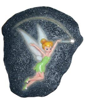 Disney LDG89106 Tinkerbell Stepping Stone  Outdoor Decorative Stones  Patio, Lawn & Garden