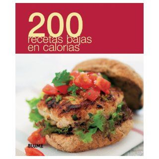 200 recetas bajas en calor�as (Spanish Edition): Blume: 9788480769518: Books