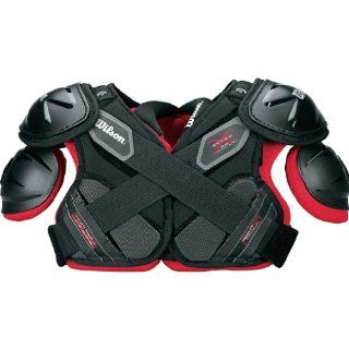 Wilson Youth XPad 2.0 Football Shoulder Pads (Black) : Football Shoulder Pads : Sports & Outdoors