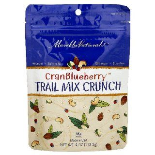 Mareblu Naturals CranBlueberry Trail Mix Crunch, 4 Ounce Pouches (Pack of 8) : Grocery & Gourmet Food