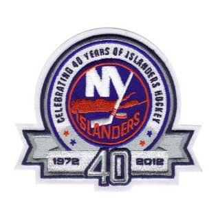 New York Islanders 40th Anniversary Logo Patch : Sports Related Collectible Photomints : Sports & Outdoors