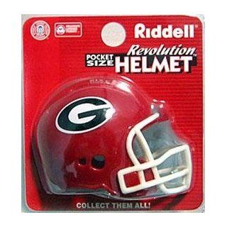 Georgia Bulldogs Pocket Pro Helmets by Riddell : Sports Related Collectible Mini Helmets : Sports & Outdoors