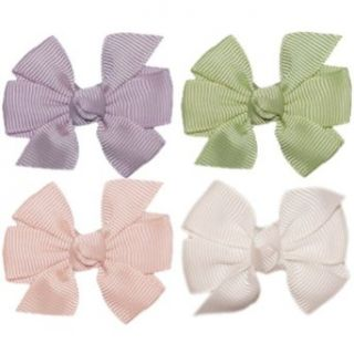 Hair Bow Gift Pack. No Slip Baby, Toddler, or Teen Bow Set. Maddie. Basics.: Clothing