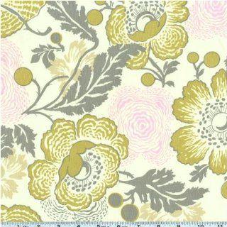 Amy Butler Midwest Modern II Fresh Poppies Linen Fabric