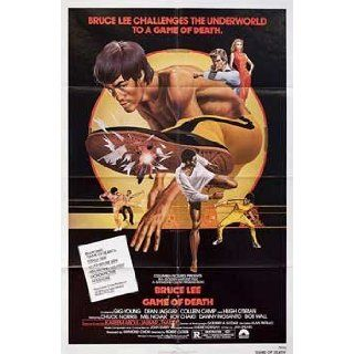 The Game of Death 1979 Original USA One Sheet Movie Poster Robert Clouse Bruce Lee: Bruce Lee, Colleen Camp, Dean Jagger, Gig Young: Entertainment Collectibles
