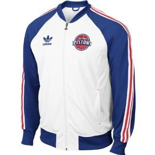 Adidas Detroit Pistons Court Series Track Jacket Small : Sports Related Merchandise : Sports & Outdoors
