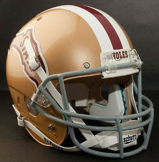 FLORIDA STATE SEMINOLES 1971 1974 Schutt AiR XP Authentic GAMEDAY Football Helmet FSU : Sports Related Collectible Full Sized Helmets : Sports & Outdoors