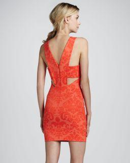 Womens Sleeveless V Back Shift Dress   Robert Rodriguez   Blood orange hg2 (10)