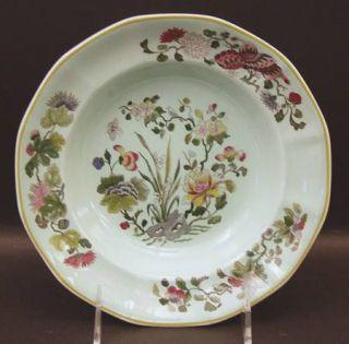 Adams China Ming Jade Rim Soup Bowl, Fine China Dinnerware   Calyxware, Oriental