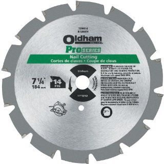 PORTER CABLE 7256814 7 1/4 Inch 14T Carbide Saw Blade Nail Cutting   Miter Saw Blades
