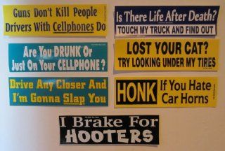 BUMPER STICKER 'HONK IF YOU HATE CAR HORNS'   Honk Horn Saying