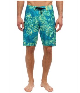 Volcom Mod Stream Lido Weedo Boardshort Mens Swimwear (Green)