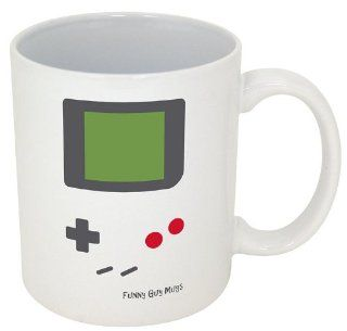 """Funny Coffee Mugs~ Novelty Ceramic Mugs~ """"Coffee Makes Me Poop""""~ Official Funny Guy Mugs (11oz, Coffee Makes Me PooP) Kitchen & Dining"""