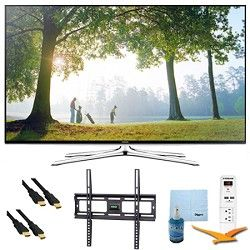 Samsung UN48H6350   48 Inch Full HD 1080p Smart HDTV 120Hz Plus Mount & Hook Up