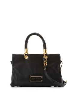 Too Hot to Handle Zip Satchel Bag, Black   MARC by Marc Jacobs