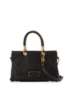 Too Hot to Handle Zip Satchel Bag, Black   MARC by Marc Jacobs