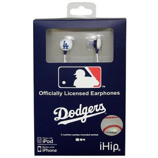 iHip Los Angeles Dodgers Logo Earbuds (HPBBLADEB)