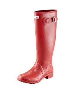Original Tour Buckled Welly Boot, Red   Hunter Boot   Red (39.0B/9.0B)