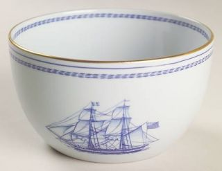 Spode Trade Winds Blue Open Rice/Sugar Bowl, Fine China Dinnerware ...