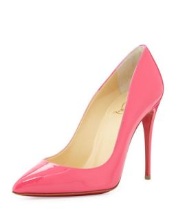 Pigalle Follies Point Toe Red Sole Pump, Pinky   Christian Louboutin   Pinky