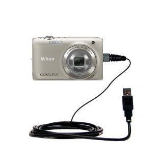 Hot Sync and Charge Straight USB cable for the Nikon Coolpix S3100   Charge and Data Sync with the same cable. Built with Gomadic TipExchange Technology : Gps Cables : Camera & Photo