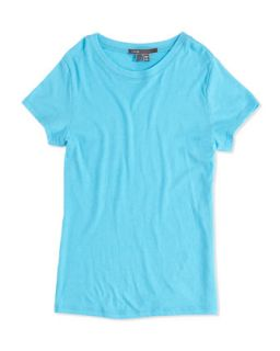 Girls Favorite Tee, Blue, 4 6X   Vince