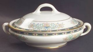 Lenox China Mystic Round Covered Vegetable, Fine China Dinnerware   Multicolor B