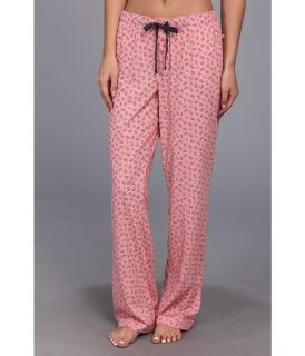 Jane & Bleecker Jersey Sleep Pant Womens Pajama (Pink)