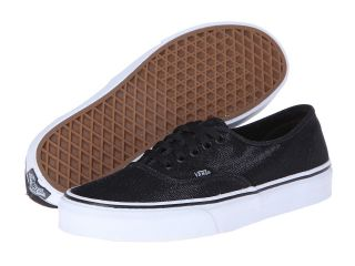 Vans Authentic Black) Skate Shoes (Black)