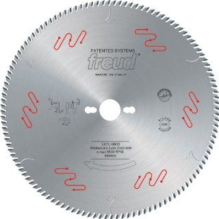 Freud LU1L10 355mm 120 Tooth Carbide Tipped High Performance Blade for Crosscutting Solid Wood Frames, Profiles and End Trims   Circular Saw Blades
